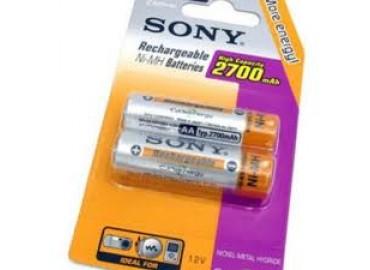Аккумулятор SONY NH-AA-B2F(N)-2700-2 шт.