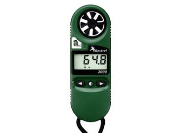 Метеостанция KESTRELL 2000 WEATHER METER  измеряет скорость   ветра и температуру