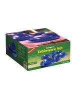 Campers tableware (4 pack), набор пластиковой посу…