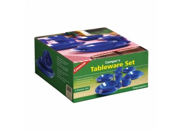 Campers tableware (4 pack), набор пластиковой посуды для кемпинга