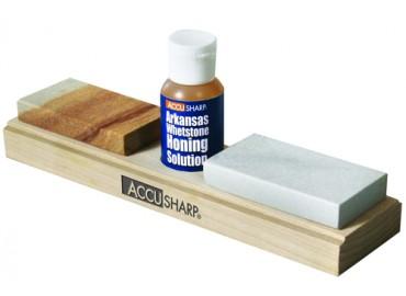 AccuSharp-Combo Stone w/Honing Oil, точилка