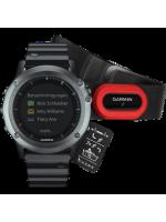 Часы Garmin Fenix 3 HRM Sapphire c металлическим б…