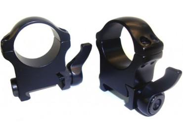 Кольца быстросъемные с рычажным зажимом ERA для Weaver/Picatinny, 30mm, BH 9.5mm