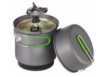 Газовая горелка с набором посуды Optimus Crux Weekend HE Cook System
