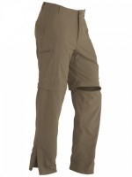 Брюки Cruz Convertible Pant Long, Khaki Brown