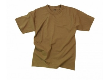 Футболка Rothco Solid Color Brown T-Shirt