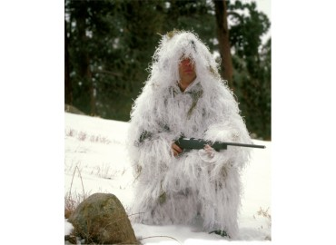 Костюм Rothco Bushrag Ultralight Ghillie Jacket and Pants Snow