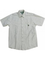 Рубашка Orbis с коротким рукавом бежевая