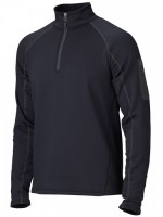 Пуловер Stretch Fleece 1/2 Zip, Black
